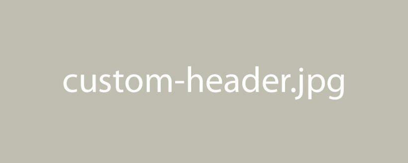 Custom Header